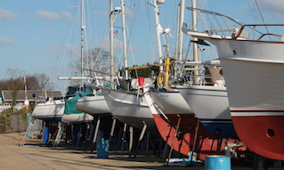 Kingston boatyard