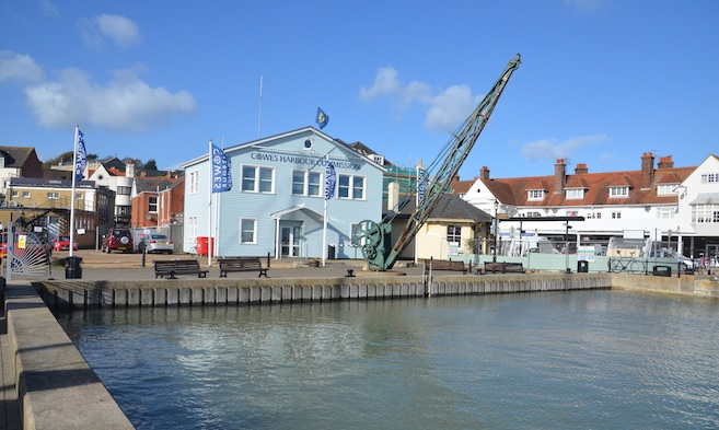 Serving Commissioners for Cowes Harbour