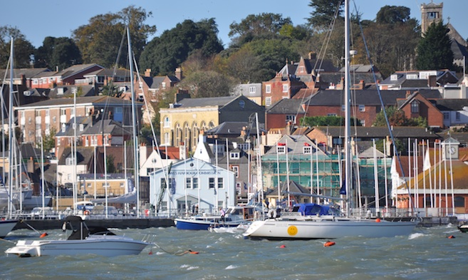 Harbour Developments at Cowes