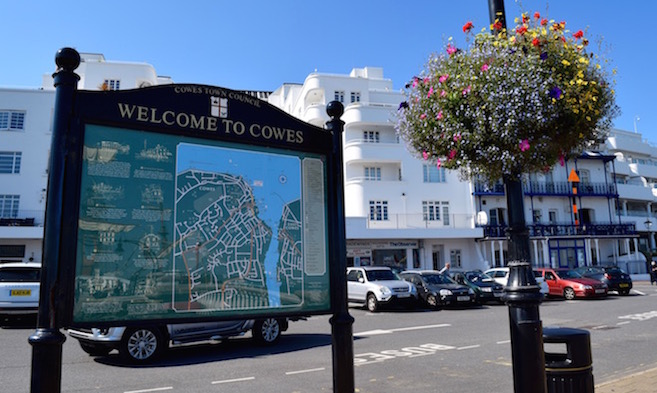 Welcome to Cowes on the Isle of Wight