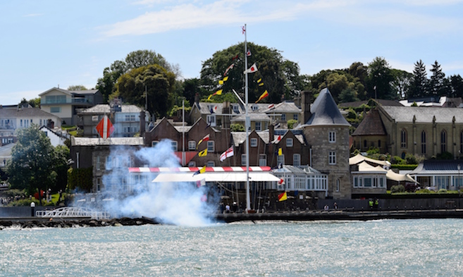 Local Yacht Clubs and Racing in Cowes Harbour