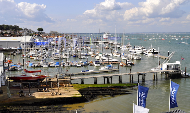 Berths for Visitors to Cowes Harbour