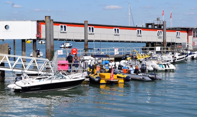Slipways and Public Landings in Cowes and East Cowes