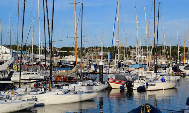 Berthing for Events in Cowes Harbour