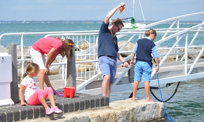 Fishing and Angling in Cowes Harbour