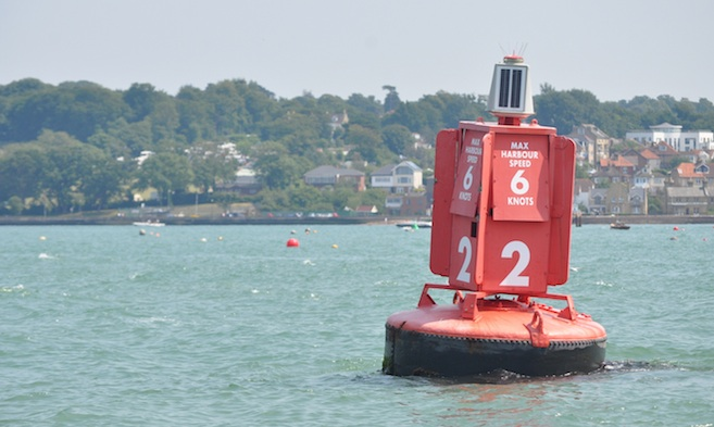 Speed Limit and Wash Cowes Harbour