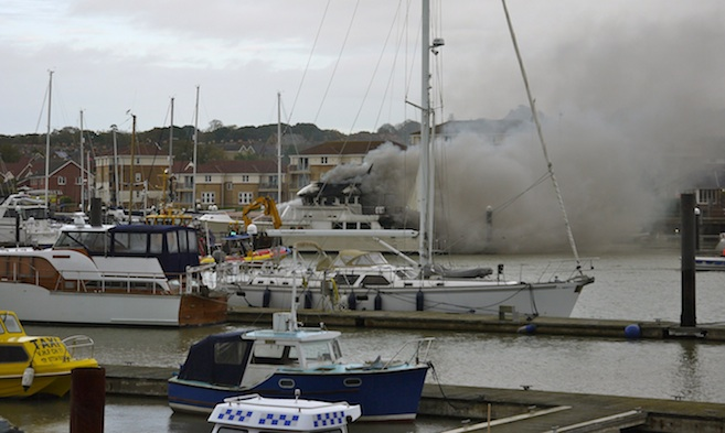 Cowes Harbour Emergency Plan