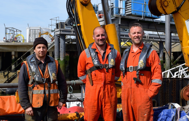 The Kingston Marine Services team