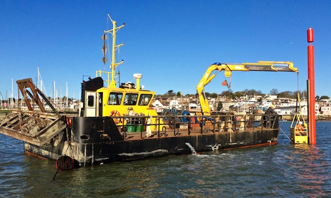 Kingston Marine Services in East Cowes