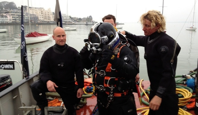 Dayboat retrieval with MMC Divers