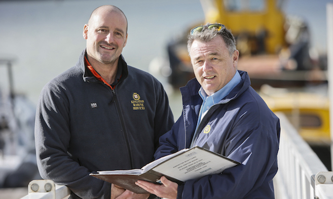 Special Projects undertaken by Cowes Harbour Services