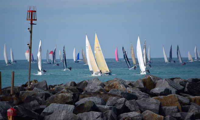 Round the Island Race event moorings