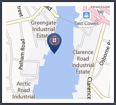 Cowes Harbour Services Fuel Berth supplies marine diesel, gas, and