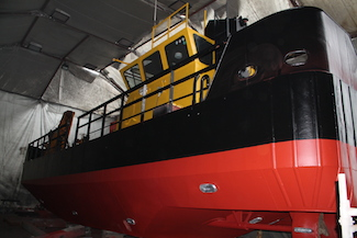 Seaclear undergoing refit at South Boats IOW