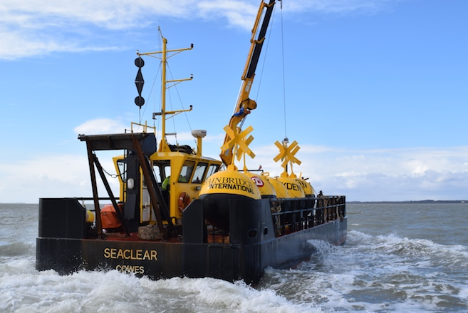 Seaclear in the Solent to lay racing marks for 2015