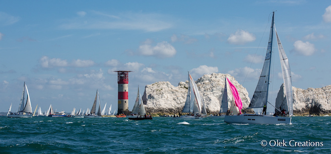Round the Island Race 2015 Credit Olek Creations