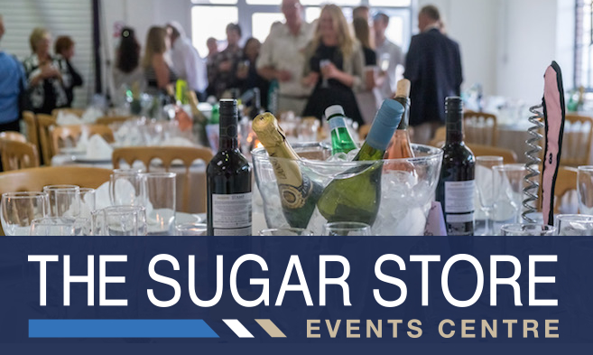 The Sugar Store Events Centre at Shepards Wharf Marina in Cowes