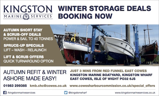 Autumn refit and winter ashore made easy