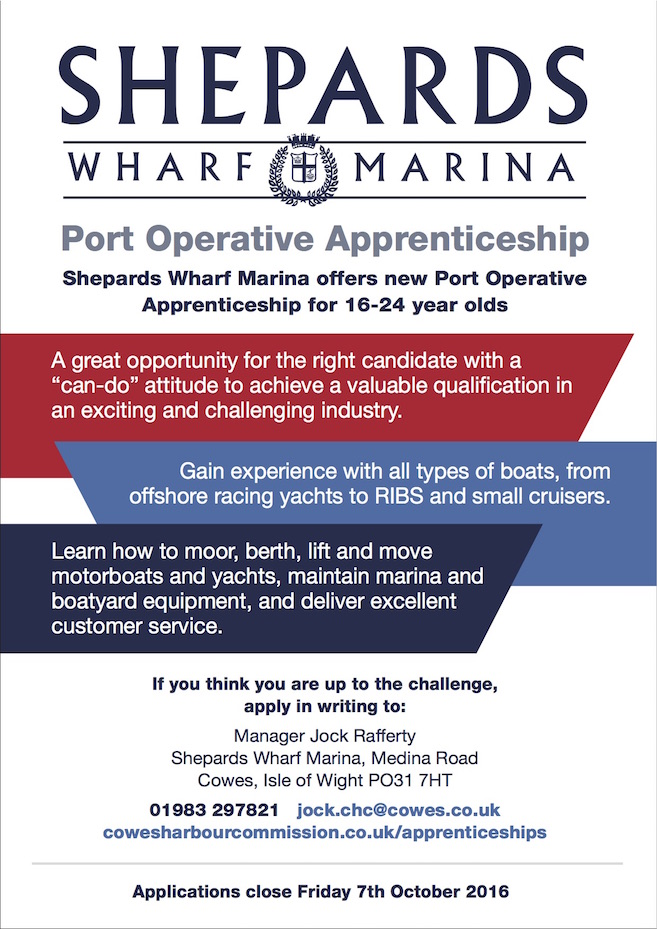 Port Operative Apprenticeship at Shepards