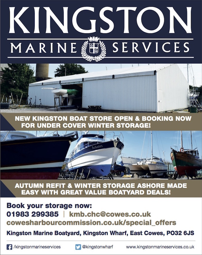 Kingston winter storage advert