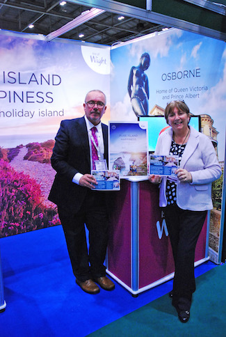 Visit Isle of Wight at the WTM