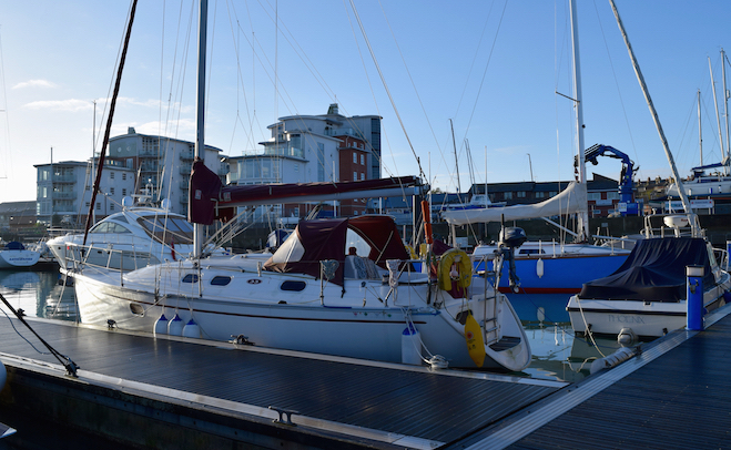 Cowes Harbour annual moorings