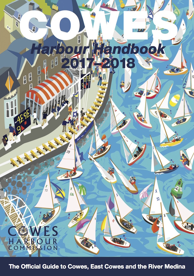 Cowes Harbour Handbook - front cover - credit Sue Stitt