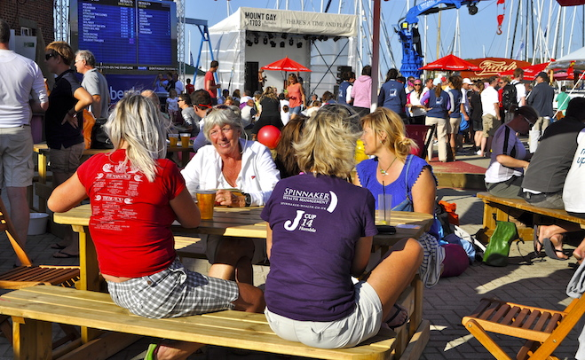 Cowes Week party invitation