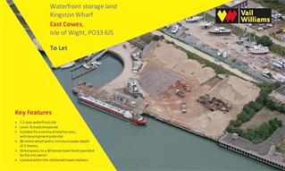 Marine industry waterfront storage land opportunity