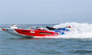 Cowes-Torquay-Cowes powerboat race 2018