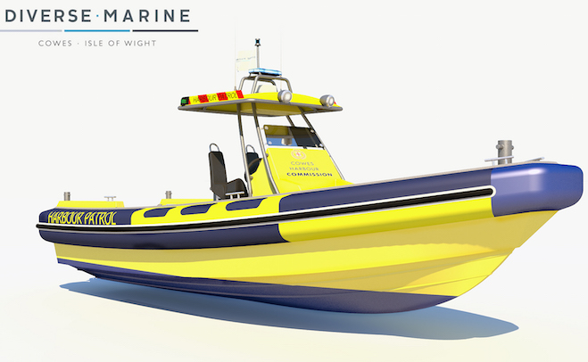 New harbour patrol RIB