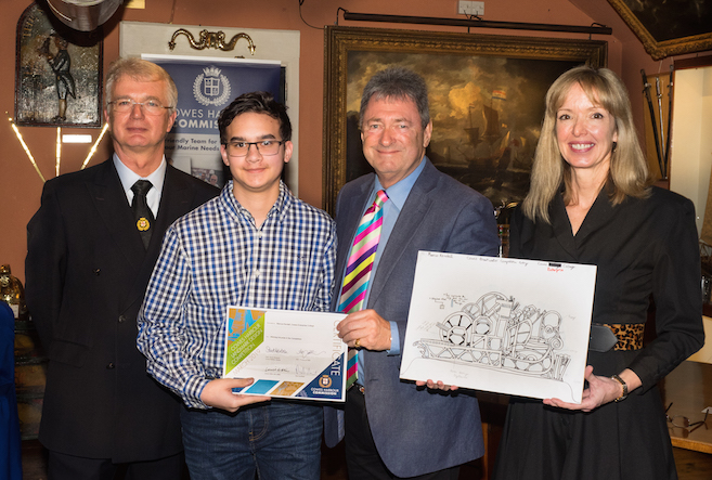 3rd prize Marcus Kendall of Cowes Enterprise College
