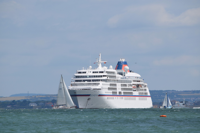 Europa at Cowes