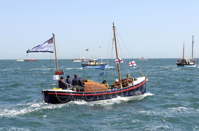 LUCY LAVERS - Aldeburgh No.2 Lifeboat built by Groves and Gutteridge, Cowes. First entered service in 1940 just in time to be called to Dunkirk