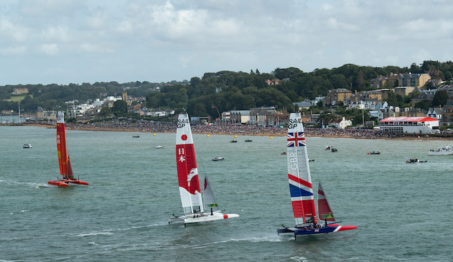Cowes SailGP - Credit and Copyright Lloyd Images