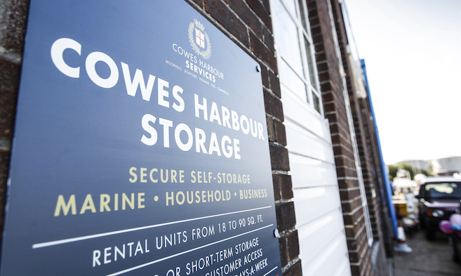 Self Storage at Cowes Harbour Storage self-storage facility