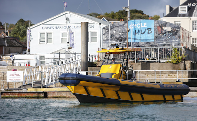 Safety audit at Cowes Harbour